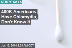 400K Americans Have Chlamydia and Don't Know It