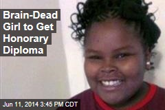 Brain-Dead Girl to Get Honorary Diploma