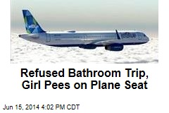 Refused Bathroom Trip, Girl Urinates on JetBlue Seat