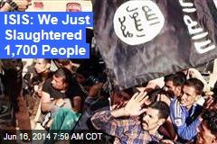 UN 'Disturbed' by Iraq Mass Killings