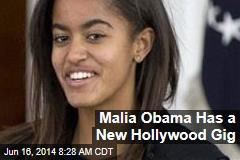 Malia Obama Has a New Hollywood Gig