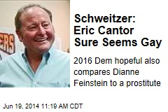 Schweitzer: Eric Cantor Sure Seems Gay