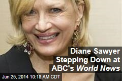 Diane Sawyer Stepping Down at ABC's World News