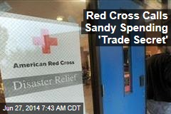 Red Cross Won't Say How It Spent Sandy Money