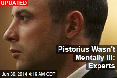 Pistorius Out of Psych Hospital, Back on Trial