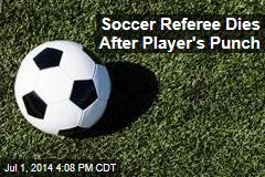 Soccer Referee Dies After Player's Punch