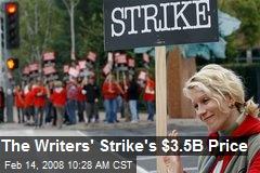 The Writers' Strike's $3.5B Price