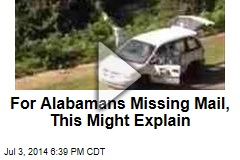 For Alabamans Missing Mail, This Might Explain