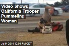 Video Shows California Trooper Pummeling Woman