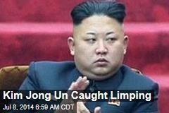 Kim Jong Un Caught Limping