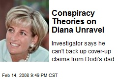 Conspiracy Theories on Diana Unravel