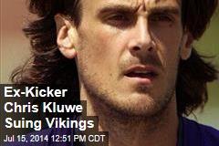 Ex-Kicker Chris Kluwe Suing Vikings
