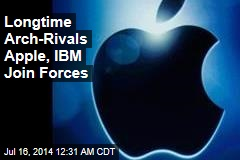 Apple, IBM Join Forces