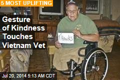 Gesture of Kindness Touches Vietnam Vet