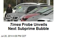 Used Car Loans: the Next Subprime Bubble
