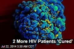Bone Marrow Transplants 'Cure' 2 More HIV Patients