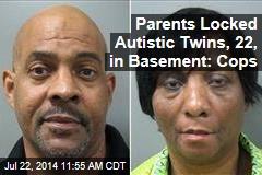 Parents Locked Autistic Twins, 22, in Basement: Cops