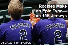Rockies Make an Epic Typo— on 15K Jerseys