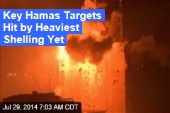 Gaza Hit With Heaviest Bombardment Yet