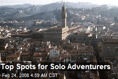 Top Spots for Solo Adventurers