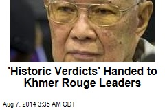'Historic Verdicts' Handed to Khmer Rouge Leaders