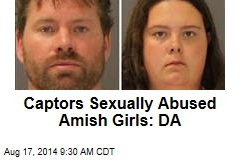 Captors Sexually Abused Amish Girls: DA