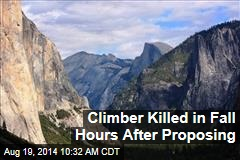 Climber Killed in Fall Hours After Proposing