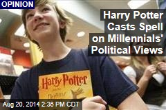 Harry Potter Casts Spell on Millennials' Political Views