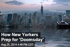 How New Yorkers Prep for 'Doomsday'