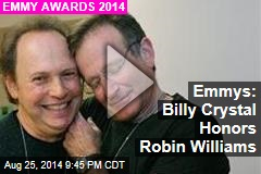 Emmys: Billy Crystal Honors Robin Williams