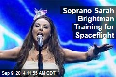 Soprano Sarah Brightman Training for Spaceflight