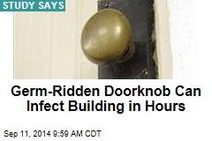 Germ-Ridden Doorknob Can Infect Building in Hours