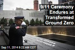 9/11 Ceremony Endures at Transformed Ground Zero