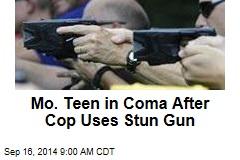 Mo. Teen in Coma After Cop Uses Stun Gun