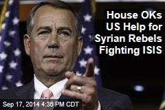House OKs US Help for Syrian Rebels Fighting ISIS