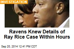 Ravens Knew Details of Ray Rice Case Within Hours