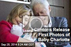 Clintons Release First Photos of Baby Charlotte