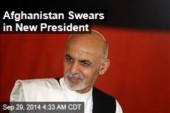 Afghanistan Swears in New President