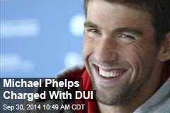 Michael Phelps Charged With DUI