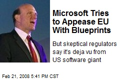 Microsoft Tries to Appease EU With Blueprints