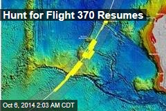 Hunt for Flight 370 Resumes