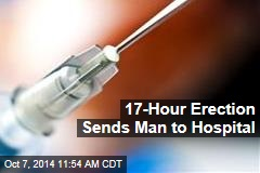 17-Hour Erection Sends Man to Hospital