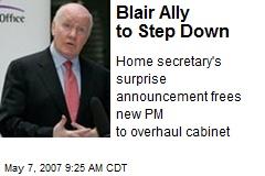 Blair Ally to Step Down