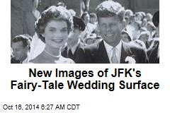 New Images of JFK's Fairy-Tale Wedding Surface