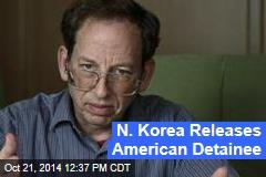 N. Korea Releases American Detainee