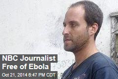 NBC Journalist Free of Ebola