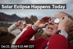 Solar Eclipse Happens Today