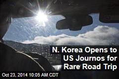 N. Korea Opens to US Journos for Rare Road Trip