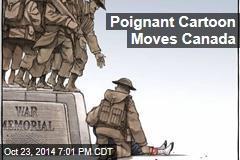 Poignant Cartoon Moves Canada