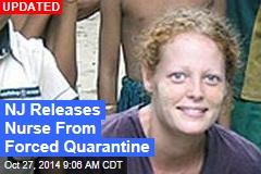 NY Loosens Ebola Quarantine Policy